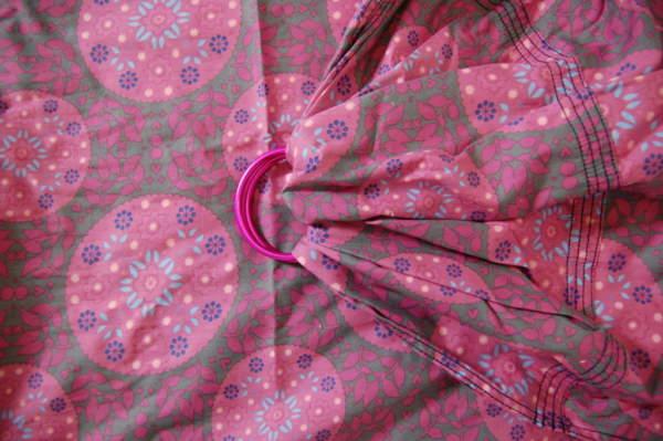 Balstjurrich ringsling roze