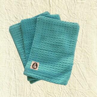 washandjes blauw