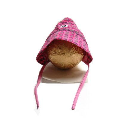 bonnet roze voorkant
