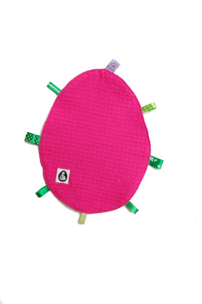 knuffeldoekje roze voorkant