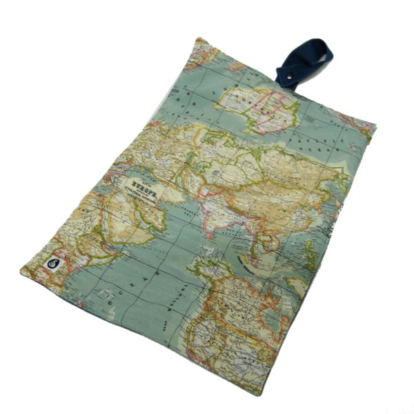 Luiertas Balstjurrich landkaart