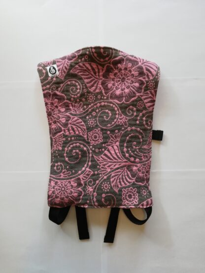 Onbuhimo poppendrager Yaro Ava Ultra Pink Brown Glam